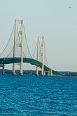 vertical stock photography | Michigan, Mackinac, Mackinac Bridge, image id 4-940-6071