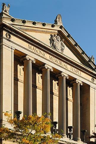 image 6-460-1748 Canada, Montreal, Masonic Memorial Temple