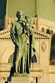 statue of saint stock photography | Canada, Montreal, Mount Royal, Saint Joseph