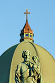 statue of joseph and jesus stock photography | Canada, Montreal, Mount Royal, Saint Joseph