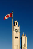 canadian flag stock photography | Canada, Montreal, Clock Tower, Tour de l