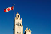 flag stock photography | Canada, Montreal, Clock Tower, Tour de l