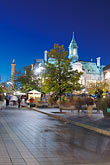 town hall clock tower stock photography | Canada, Montreal, Hotel de Ville, image id 6-460-2158