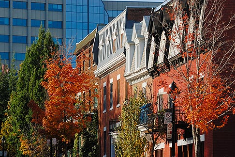 image 6-460-2292 Canada, Montreal, Row houses