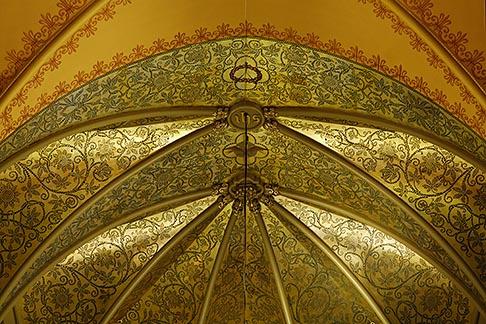 image 6-460-7375 Canada, Montreal, Saint Patricks Basilica, ceiling