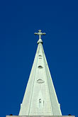 blue sky stock photography | Canada, Montreal, Church steeple, image id 6-460-7394