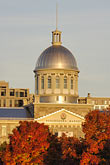 fall foliage stock photography | Canada, Montreal, Bonsecours Market, image id 6-460-7858