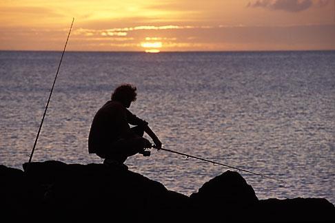 image 0-158-7 Montserrat, Fishing, Old Road Bay