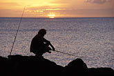 one man only stock photography | Montserrat, Fishing, Old Road Bay, image id 0-158-7