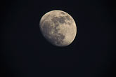 horizontal stock photography | Moon, Nearly full moon, closeup, image id 1-94-7