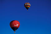 elevated view stock photography | Nevada, Reno, Hot air ballooning, image id 0-326-23