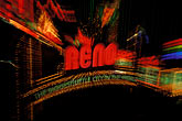 neon lights stock photography | Nevada, Reno, Reno Arch, image id 0-331-1