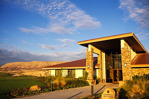 image 3-890-45 Nevada, Las Vegas, Bears Best Golf Course clubhouse