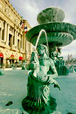 fountain stock photography | Nevada, Las Vegas, Paris Hotel and Casino , image id 3-901-37