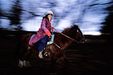 image S4-200-17 New Mexico, Santa Fe, Horseback riding