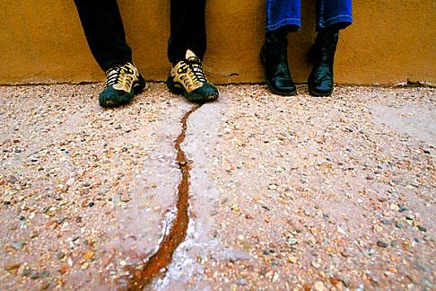 image S4-200-5 New Mexico, Santa Fe, Feet