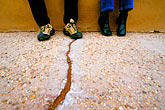 crack stock photography | New Mexico, Santa Fe, Feet, image id S4-200-5