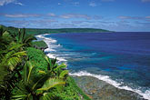 high angle view stock photography | Niue, Seacoast from Matavai Resort, image id 9-503-66