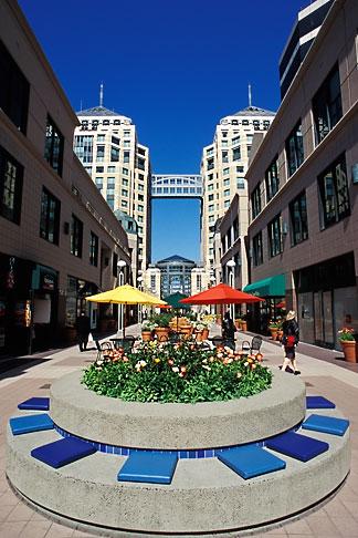 image 1-99-11 California, Oakland, City Center Plaza