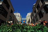 horizontal stock photography | California, Oakland, City Center Plaza, image id 1-99-12