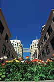 town square stock photography | California, Oakland, City Center Plaza, image id 1-99-7