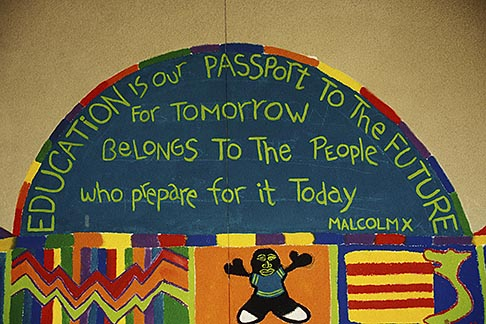 image 3-254-10 California, Oakland, School Mural