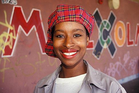 image 3-259-23 California, Oakland, Summer of Service intern, Frick Jr High School