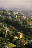 downtown stock photography | California, Oakland, Oakland Hills, view, image id 4-729-76