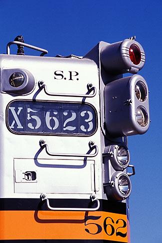 image 6-204-28 California, Oakland, Southern Pacific locomotive