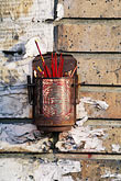 derelict stock photography | California, Oakland, Incense holder, Chinatown, image id 6-309-27