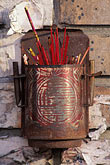 oakland stock photography | California, Oakland, Incense holder, Chinatown, image id 6-309-30