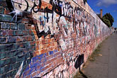 diagonal stock photography | California, Oakland, Graffiti wall, image id 9-441-13