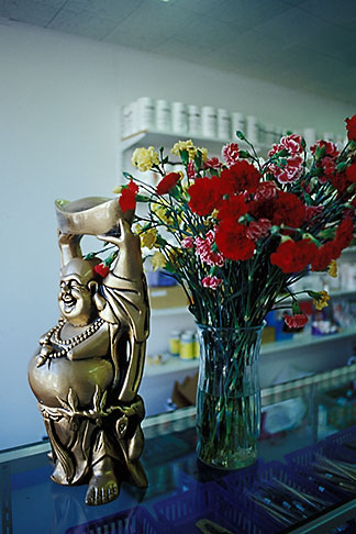 image 9-441-34 Buddha statue in shop