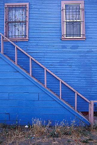 image 9-444-92 California, Oakland, House in Jingletown neighborhood