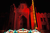 dark stock photography | California, Oakland, Fox Theater, image id S2-20-2
