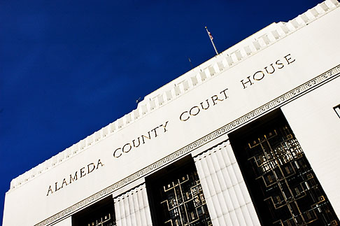 image S5-60-3342 California, Oakland, Alameda County Courthouse