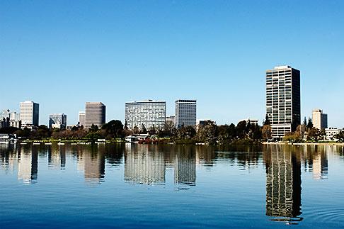 image S5-60-3482 California, Oakland, Lake Merritt