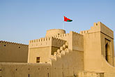 al khandaq fort stock photography | Oman, Buraimi, Al Khandaq Fort, walls and ramparts, image id 8-730-9846