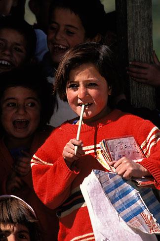image 4-447-24 Pakistan, Hunza, Schoolgirl, Gulmit