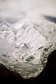 snow capped stock photography | Pakistan, Karakoram Highway, Rakaposhi, high above Hunza Valley, image id 4-454-31