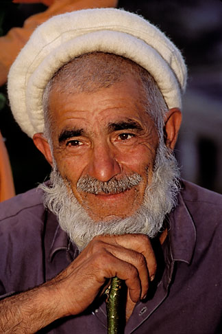image 4-457-5 Pakistan, Gilgit, Old Man