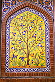 architectural detail stock photography | Pakistan, Lahore, Inlaid tree of life, Lahore Fort, image id 4-462-18