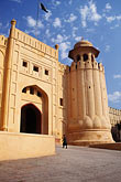 lahore fort stock photography | Pakistan, Lahore, Alamgiri Gate, Lahore Fort, image id 4-468-22
