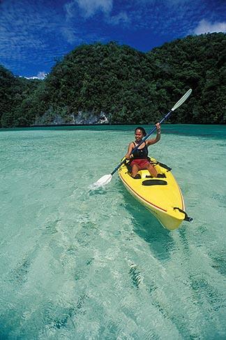 image 8-100-4 Palau, Rock Islands, Kayaking