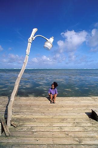 image 8-114-30 Palau, Babeldaob, Dock, Ngaraard village