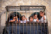 five people stock photography | Palestine, West Bank, Hebron, Palestinian children, image id 9-350-20