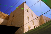 near east stock photography | Palestine, West Bank, Hebron, Settlement built on top of Palestinian market, image id 9-350-34