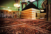 interior stock photography | Palestine, West Bank, Hebron, Cenotaph of Rebekah, Ibrahimi Mosque, image id 9-350-36