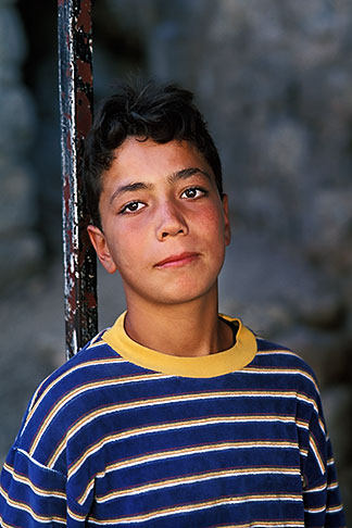 image 9-401-10 Palestine, West Bank, Hebron, Palestinian boy