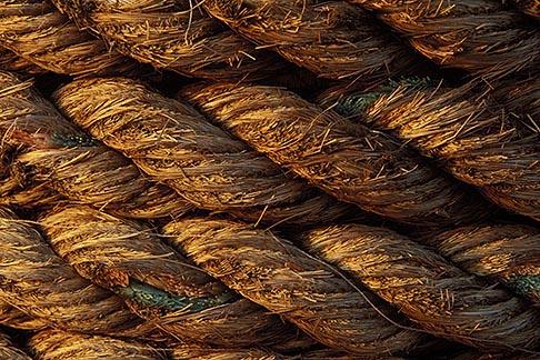 image 4-252-2 Still life, Detail of ropes